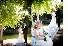 Tanque Verde Ranch, Tucson,   Arizona, Pond and bridge.  Wedding.  www.somethingbluephotography.net