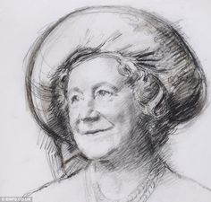250 sketches of artist Michael Noakes, depicting a year in the life of Her Majesty.