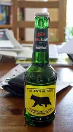 Foto: Beer Bottle, Signs, Drinks, Photos, Brewing, Beer, Dogs, Drinking, Beverages