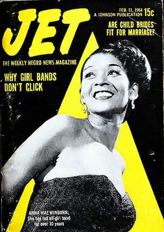 Anna Mae Winburn, Leader of All Girl Band - Jet Magazine, … | Flickr
