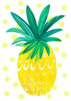 Party Wallpaper Iphone Art Prints New Ideas Cute Wallpapers, Wallpaper Backgrounds, Iphone Wallpaper, Illustrations, Illustration Art, Pineapple Illustration, Mellow Yellow, Bright Yellow, Pattern Wallpaper