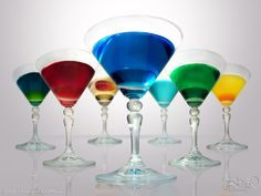 #RadioGardaFm Rainbow cocktails #Cocktail #Happyhour #Food #Drink #Summer #Sunset #Sun #Lake #Water #Color