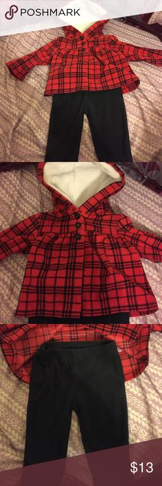 Carter's outfit 6 months Carter's fleece outfit size 6 months new without tags Carter's Matching Sets