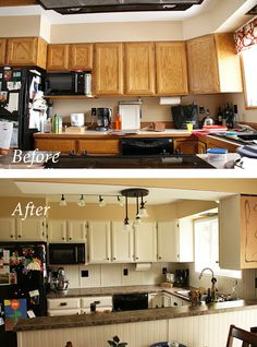 My Inexpensive, DIY Kitchen Remodel. The Before and After. Re-Use it Missoula.