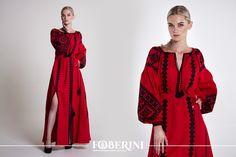 Foberini brand Vyshyvanka buy online Embroidered Ukrainian culture Vintage Ukrainian blouses