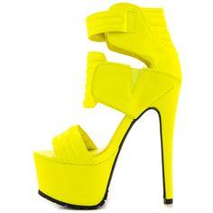 Drama - Neon Yellow Privileged $89.99