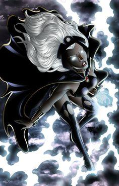 Znalezione obrazy dla zapytania storm marvel comics
