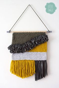 Woven Wall Hanging/Tapestry Weaving/Boho