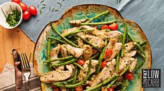 This delicious recipe makes use of our fantastic Skinny Basil Pesto, perfect for adding low-fat low-carb flavor to your favorite recipes. Basil Pesto Chicken, Chicken Pesto Recipes, Meat Recipes, Paleo Recipes, Paleo Meals, Paleo Diet, Tasty Dishes, Food Dishes, Low Fat Low Carb