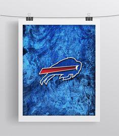 Buffalo Bills Poster, Buffalo Bills Football Poster, Bills gift, Buffalo Bills Map Art Buffalo Man Cave