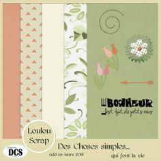 Des Choses Simples...qui font la vie, kit DCS - Le blog de loulou31