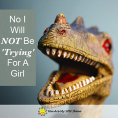 No I Will NOT Be 'Trying' For A Girl