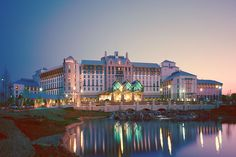 The Gaylord Texan Resort Hotel in Dallas, TX...Eat at The River Walk restaurant..Wonderful!
