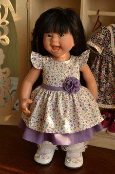 Одежда для девочки-Вихтеля 32 см Роземарии Анна Мюллер / Одежда для кукол / Шопик. Продать купить куклу / Бэйбики. Куклы фото. Одежда для кукол