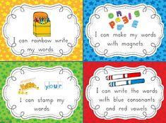 Chalk Talk: A Kindergarten Blog: Fabulous Firsties Mega Word Work Freebie