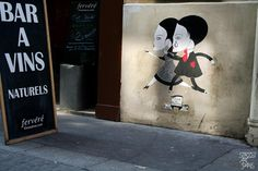 Fred le Chevalier - Street Art Paris