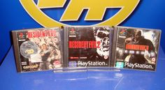 Juego para Playstation one-clasicos- RESIDENT EVIL 1-2-3 NEMESIS