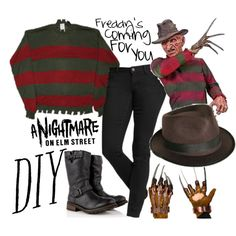 Thinking of doing Freddy for Halloween, in honor of Wes Cravens passing. Scary Halloween Costumes, Diy Halloween Costumes, Halloween 2019, Halloween Party, Costume Ideas, Halloween Stuff, Halloween Makeup, Halloween Ideas, Halloween Decorations