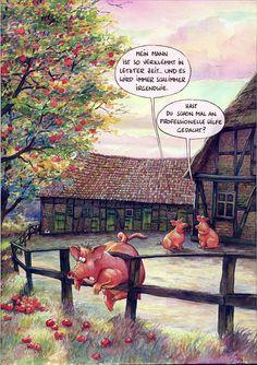 Eheleben-MARUNDE   Cartoons & Illustrationen von Wolf-Rüdiger Marunde