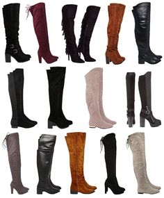 over knee boots fashion wishlist