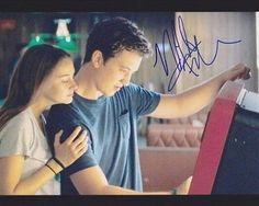 Miles Teller Autographed Signed 8X10 Photo COA Spectacular Now Shailene Woodley