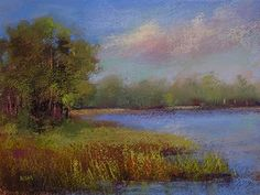 Pastel Painting by Karen Margulis