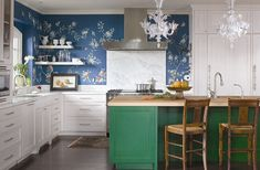 Give your eclectic kitchen a colorful makeover