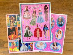 4 count Party Accessory Hallmark Mktg Corp Disney Cinderella Sparkle Sticker Sheets