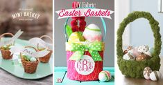 Here you will find 60+ ideas for the most original Easter baskets for 2017. It is never too soon to start preparing yourself for an unforgettable Easter!