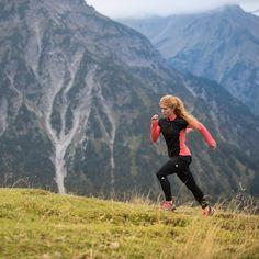 Maximum grip – maximum performance. Ekaterina Mityaeva enjoys her trail run with dry feet in the new #terrexAgravic GTX.