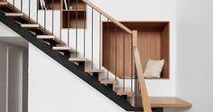 Résultats de recherche d'images pour «nook next to staircase storage»