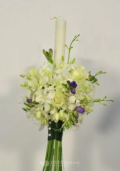 Lumanare nunta de la 123flori Scented Candles, Glass Vase, Wedding Flowers, Diana, Festive, Wedding Ideas, Weddings, Home Decor, Horsehair