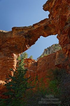 Devil's Bridge, near Sedona, Arizona.  Not sure where the name comes from, but it seems like a heavenly sight to me.
