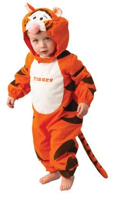 Tiger Winny the Pooh ™costume for babies: Disney Tigger Baby ™ for children officially licensed by Disney ™ costume. Super Baby Tigger ™ costume very comfortable to wear. Disney ™ costume idea for carnival,. Disney Fancy Dress, Baby Fancy Dress, Tigger Costume, Joker Costume, Angel Fancy Dress Costume, Costume Dress, Costume Tigre, Costumes For Sale, Toys