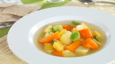 vegetable soup - sub veg. stock, maybe add lentils or peas? Winter Vegetable Soup, Winter Vegetables, Vegetable Soup Recipes, Lentils, Celery, Thai Red Curry, Food Porn, Dinner Recipes, Fruit