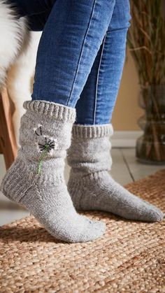 Cool Socks, Awesome Socks, Knitting Socks, Knitting Ideas, Diy And Crafts, Knit Crochet, Projects To Try, Slippers, Boots
