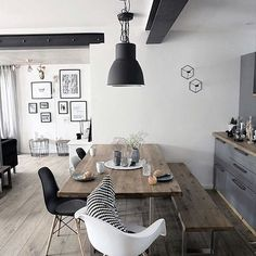 What a lovely dining space! Powered by: @JeffThings