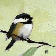 Chickadee-No-143-Angela-Moulton-Animal-Bird-Canvas-16x16