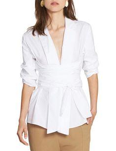 Clarissa Wrap Shirt