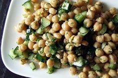 Lemony Chickpea Salad [Vegan]