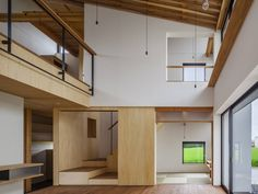 Designed in 2013 by Fumihito Ohashi Architecture Studio (FOAS), this contemporary single household residence is located contained in the Mie District, Japan. Photography by Ippei Shinzawa Visit Fumihito Ohashi Architecture Studio - Home Interior Design, Interior And Exterior, Interior Decorating, Japanese Interior, Contemporary Interior, Studios Architecture, Interior Architecture, Home Studio, Decor Styles