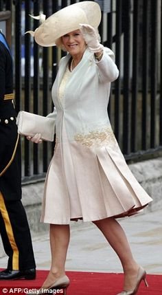 Camilla looking... just alright.  Not digging those pleats.