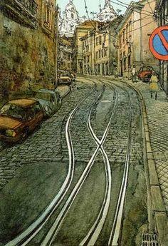 Lisbonne, par Nicolas de Crecy