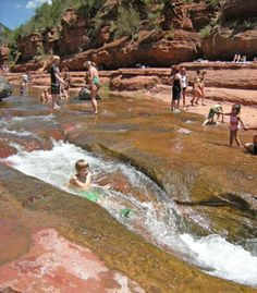 Slide Rock State Park @tamstreasurebox & @susanned - worth a drive?