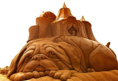 """Susanne Ruseler from the Netherlands carved """"Flea Circus."""""""