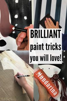 All the painting tips you never knew you needed to know ALL in one place! Tried and True Painting Tips and Tricks to make your work easier and make you want to pull your hair out far less!
