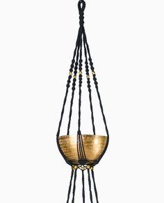 tutoriel suspension pour pot de fleurs en macram femme2decotv plantes pinterest pots de. Black Bedroom Furniture Sets. Home Design Ideas
