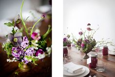 beautiful arrangement by sunday suppers