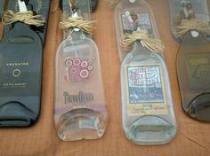 1000 images about blinged bottles on pinterest alcohol bottles bling wedding cakes and - How do you melt glass bottles ...