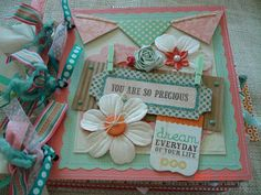 Scrapbooking by Phyllis: Premade Paper Bag 8x8 Scrapbook Album *You are Pre...